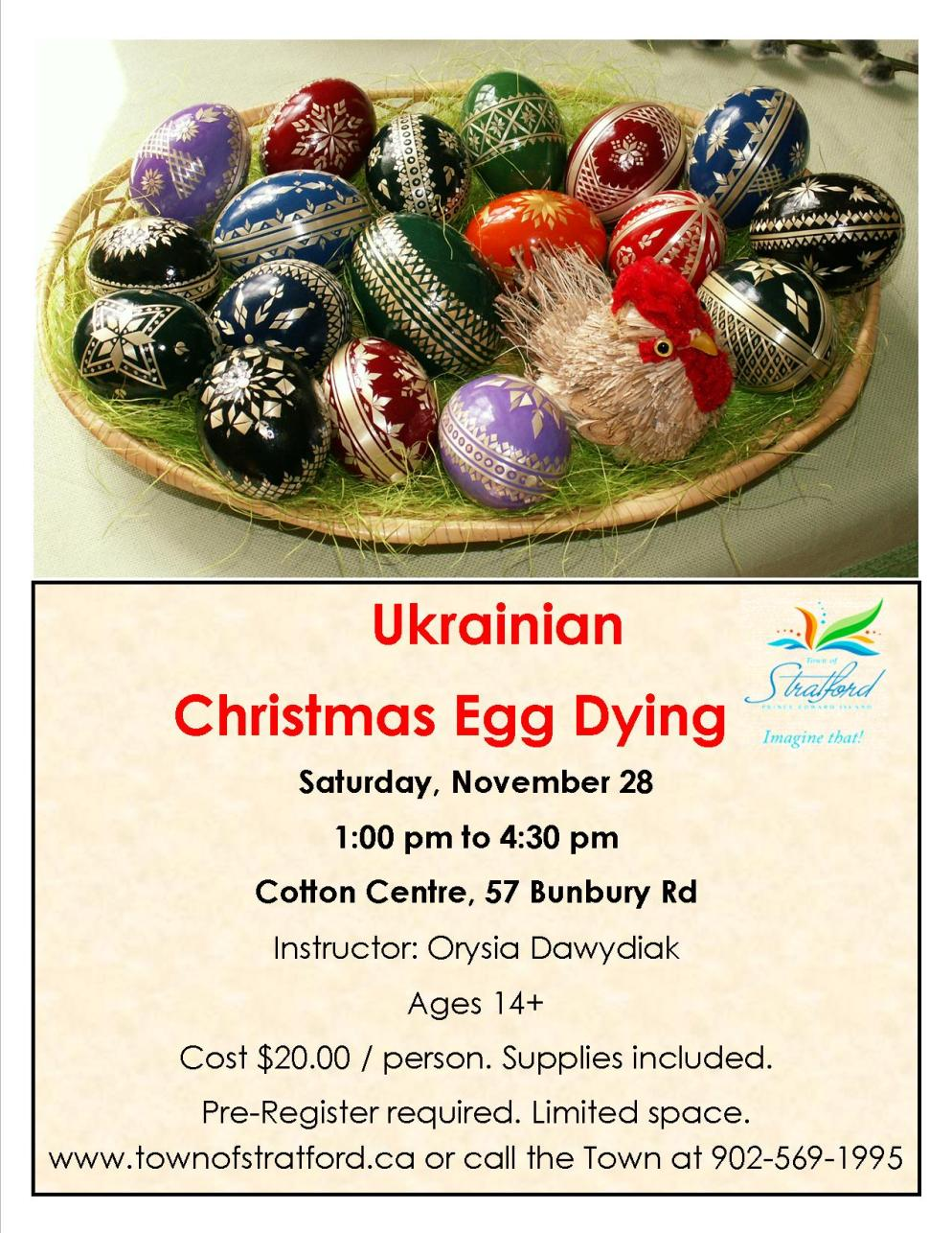 Christmas Egg Dying Nov 28, 2015
