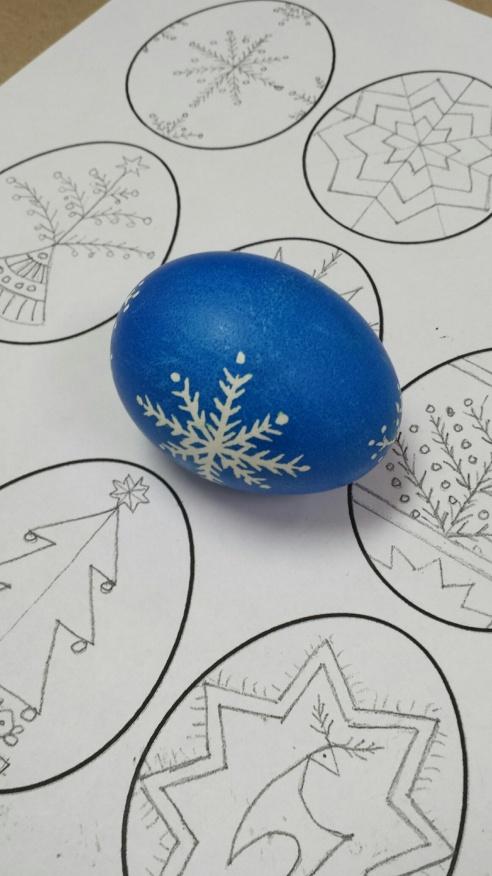 Christmas egg 3
