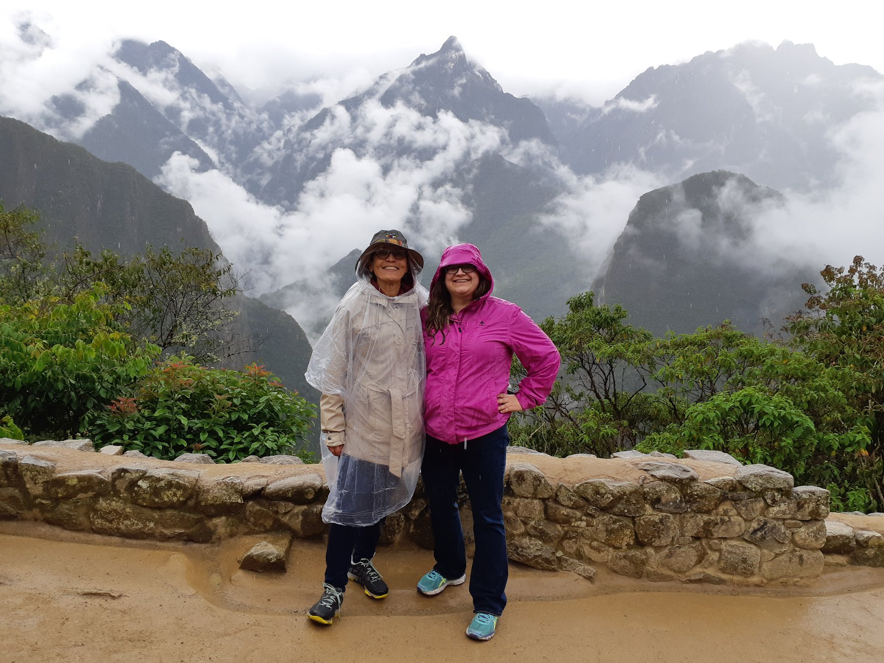 O&K Machu Picchu rain